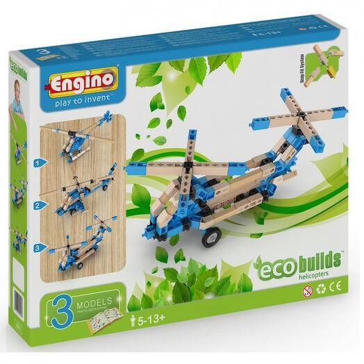 Конструктор Вертолеты серия Eco builds