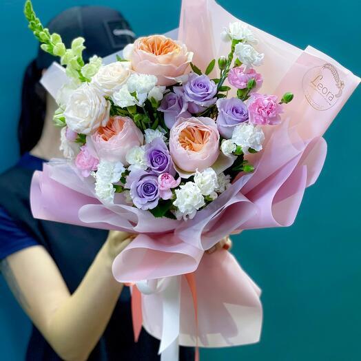 Пионовидные розы для принцессы
