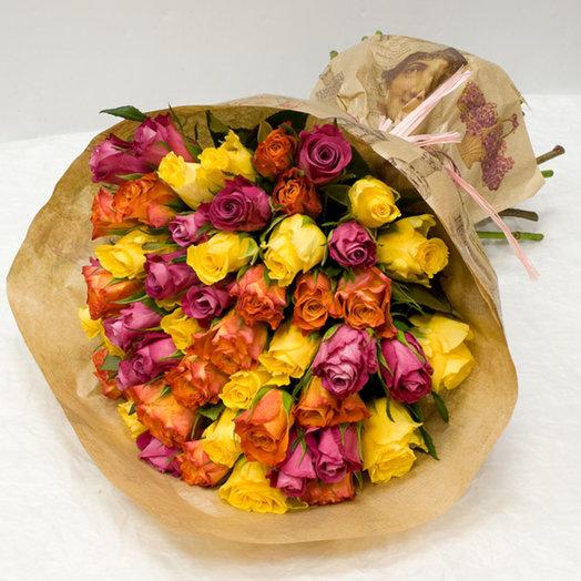 Букет из роз Акцент: букеты цветов на заказ Flowwow