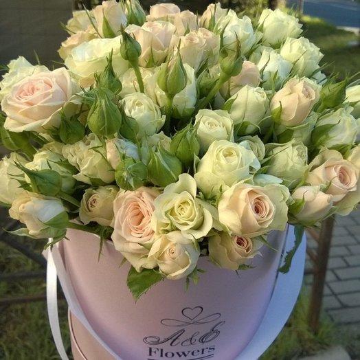 Композиция Розовое облако: букеты цветов на заказ Flowwow