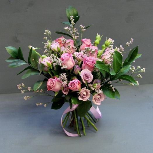 Букет СИРЕНЕВОЕ НАСТРОЕНИЕ: букеты цветов на заказ Flowwow