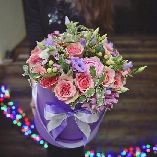 """""""Цветная коробочка"""": букеты цветов на заказ Flowwow"""
