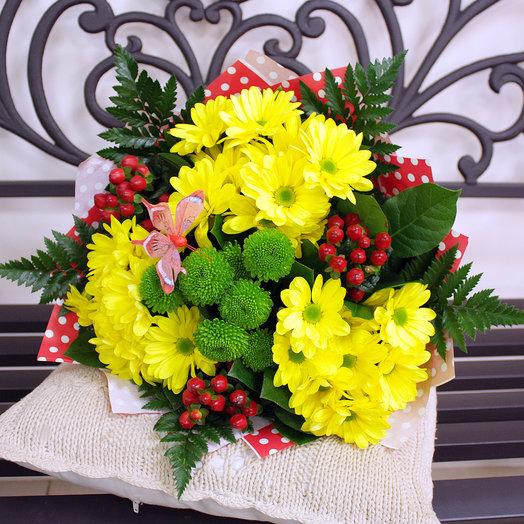 """Букет """"Летний день"""": букеты цветов на заказ Flowwow"""