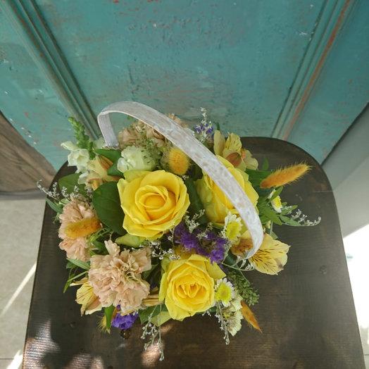 Корзиночка: букеты цветов на заказ Flowwow