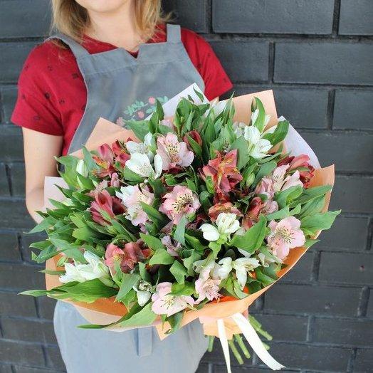 Bouquet of alstromeries 15: flowers to order Flowwow