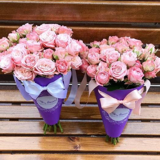 Букет в конверте: букеты цветов на заказ Flowwow