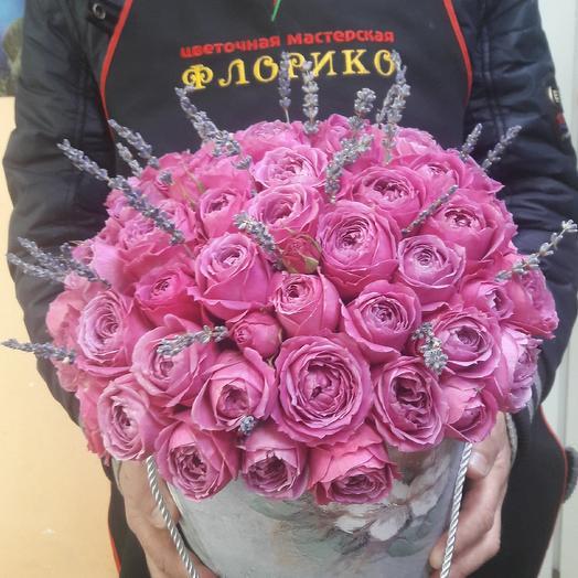 Розапион с лавандой: букеты цветов на заказ Flowwow