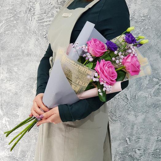 """Букет для милой """"Доброе утро"""": букеты цветов на заказ Flowwow"""