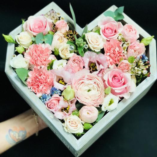 Нежность ): букеты цветов на заказ Flowwow