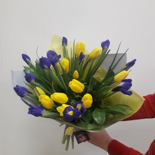 Весенний букетик: букеты цветов на заказ Flowwow