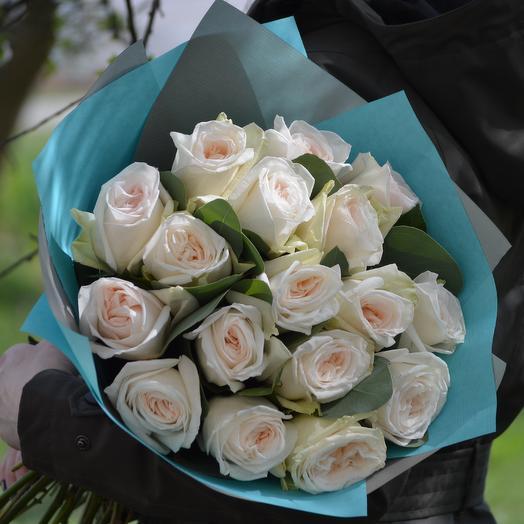 Ароматная Вайт Охара: букеты цветов на заказ Flowwow