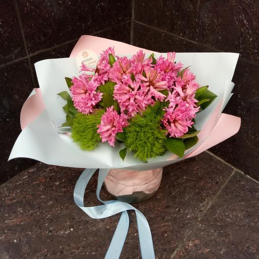 Розовые грозди: букеты цветов на заказ Flowwow