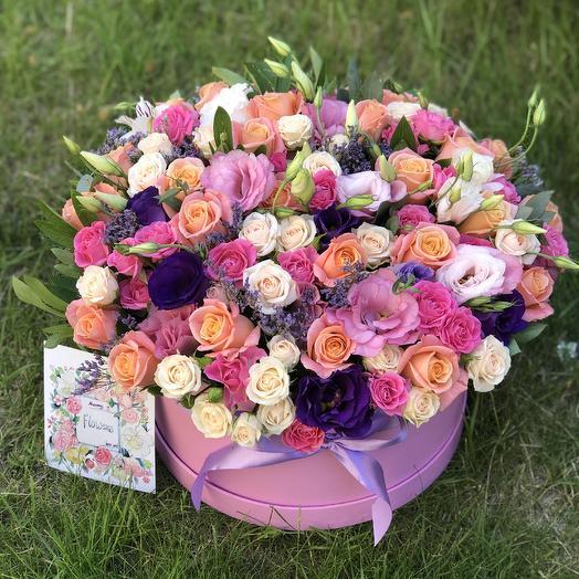 Премиум цилиндр xxl: букеты цветов на заказ Flowwow