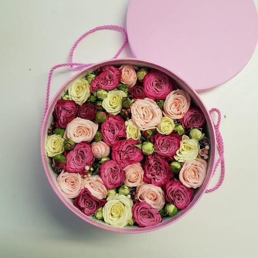 Шляпная коробка 6: букеты цветов на заказ Flowwow