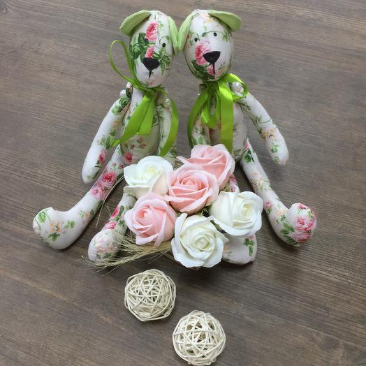 """Игрушки ручной работы """"Близняшки"""": букеты цветов на заказ Flowwow"""