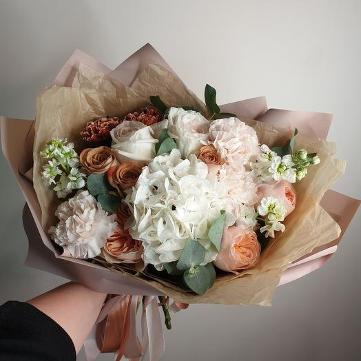 Кофейная сказка: букеты цветов на заказ Flowwow