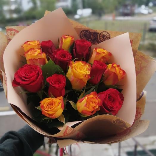Теплые объятия: букеты цветов на заказ Flowwow