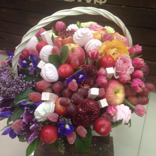 Фруктовый рай: букеты цветов на заказ Flowwow
