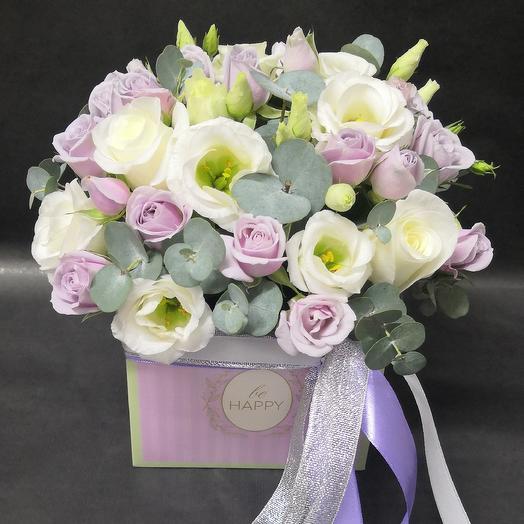 Эвкалиптовая роскошь: букеты цветов на заказ Flowwow