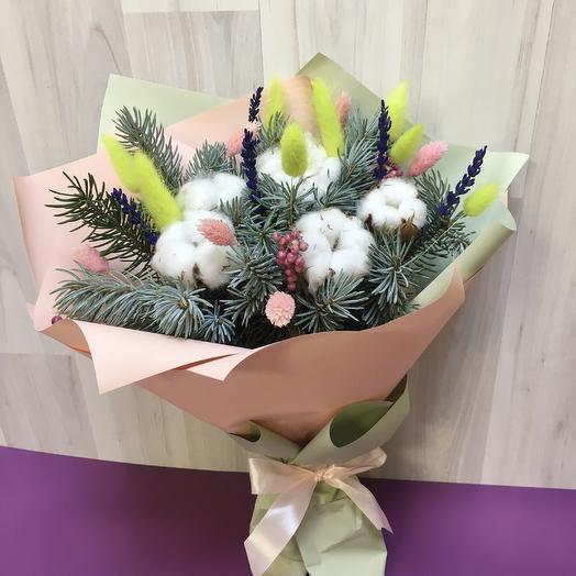 Зимнее настроение: букеты цветов на заказ Flowwow