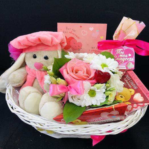 Розовые чудеса: букеты цветов на заказ Flowwow