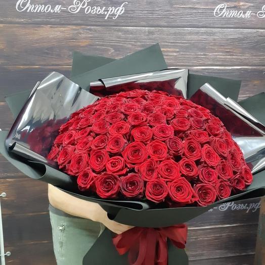 Букет 101 роза Ред Наоми