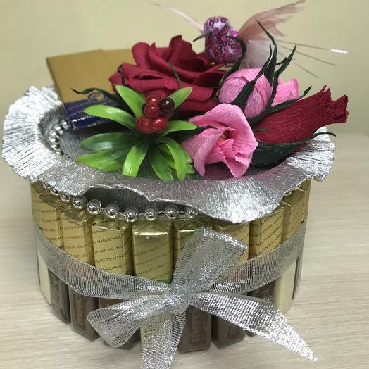 Сундук с сокровищем: букеты цветов на заказ Flowwow