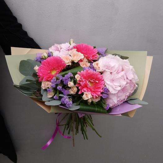 "Букет,, Девичьи грезы"": букеты цветов на заказ Flowwow"