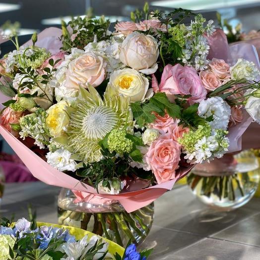 Букет Созвездие Ангела: букеты цветов на заказ Flowwow