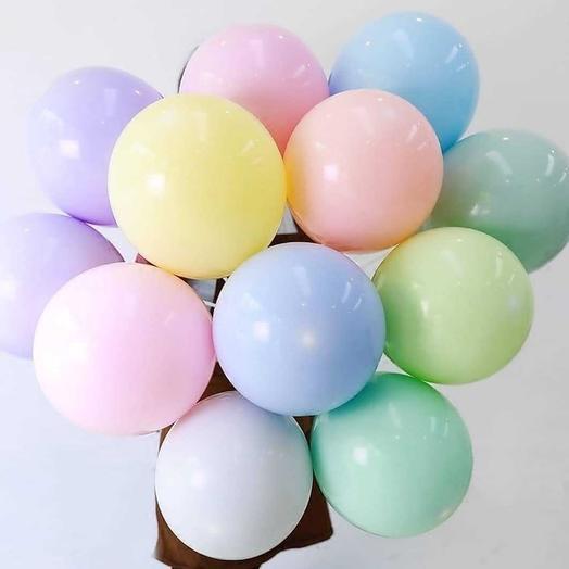 Воздушные шары - нежные тона (15 шт.)
