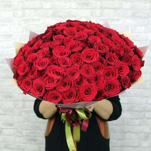 Букет из 101 красной розы Upper Class