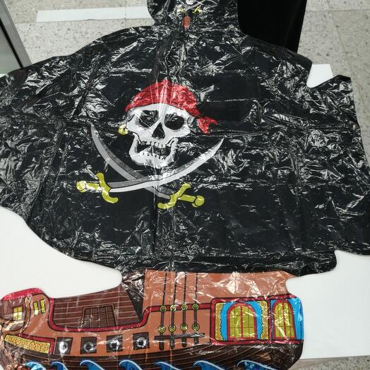 """Шар-фольга """"Пиратский корабль"""""""