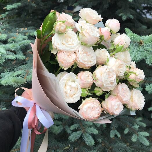 Бомбастик Пионовидные Розы 7