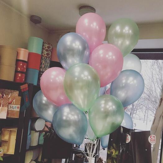 Воздушные перламутровые шары
