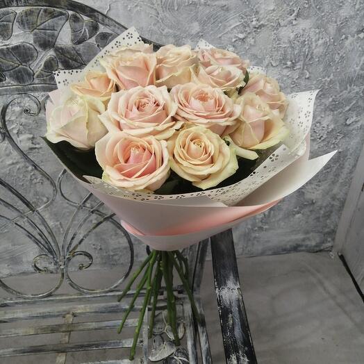 """Букет из роз """"Восхищение"""""""