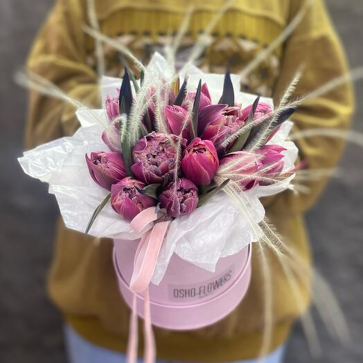 Коробочка Тюльпанов «Весенний поцелуй»