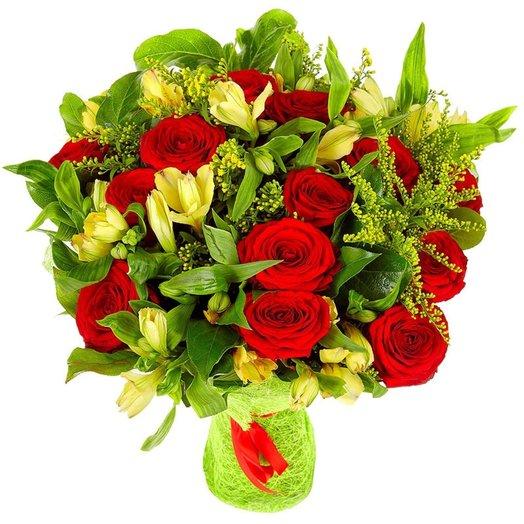 Букет № 21 Эулалия: букеты цветов на заказ Flowwow