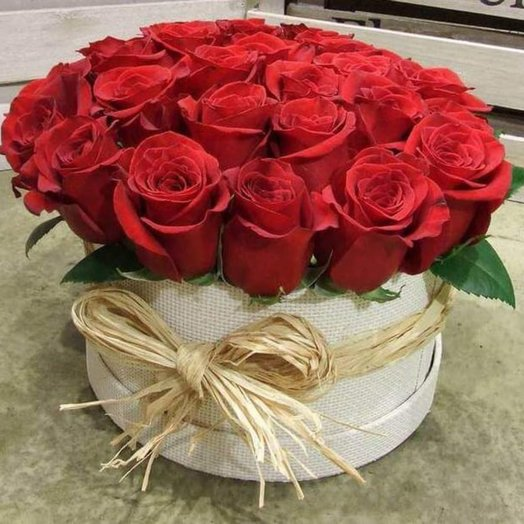25 Роз в коробочке: букеты цветов на заказ Flowwow