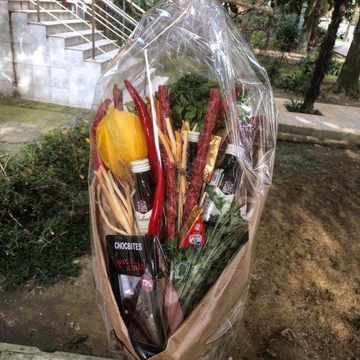 Мужской букет : букеты цветов на заказ Flowwow