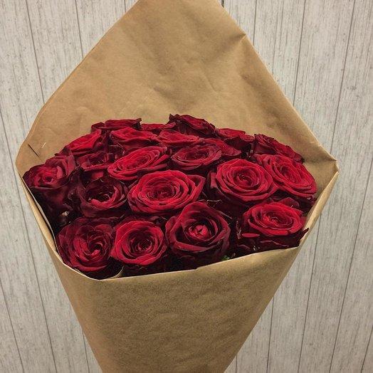 """Букет роз """"Тайный поклонник"""": букеты цветов на заказ Flowwow"""