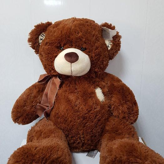 Бурый медведь Степан!: букеты цветов на заказ Flowwow