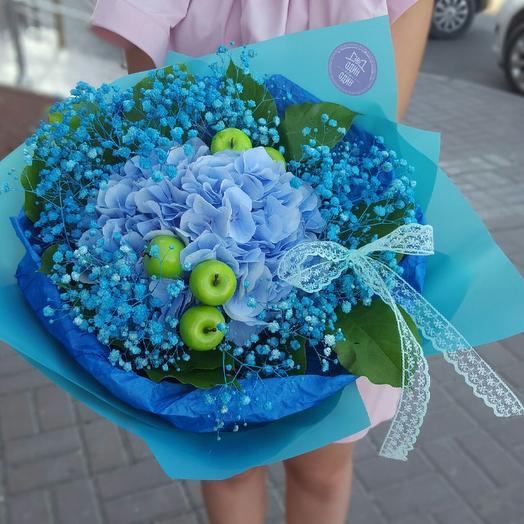 Облако гортензии: букеты цветов на заказ Flowwow