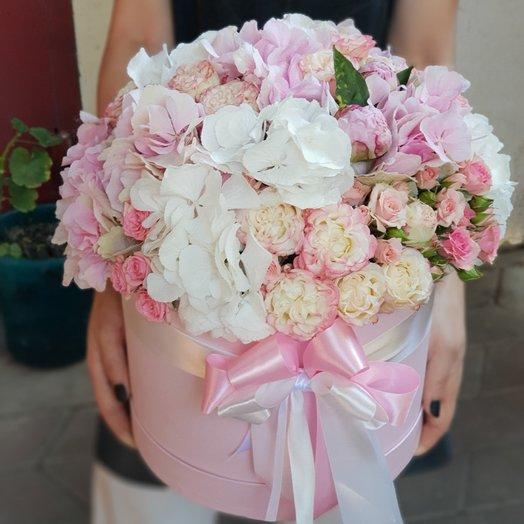 Коробочка нежная: букеты цветов на заказ Flowwow