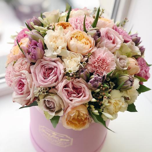 Box 33: букеты цветов на заказ Flowwow