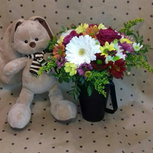"Композиция ""Милашка"": букеты цветов на заказ Flowwow"