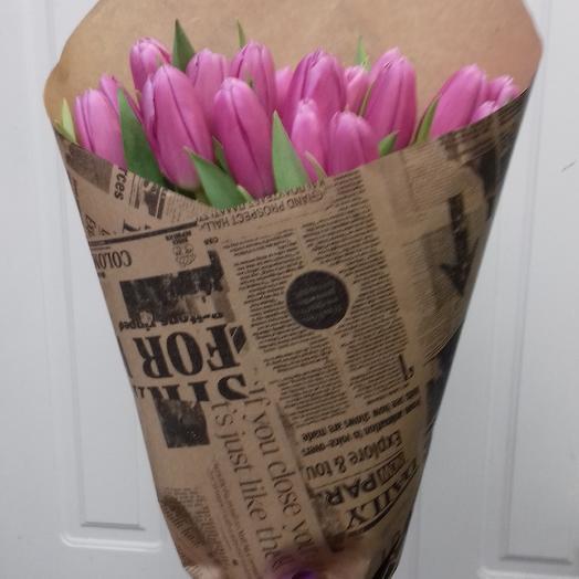 Тюльпан 21: букеты цветов на заказ Flowwow
