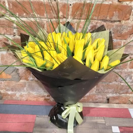 Желтый Вечер: букеты цветов на заказ Flowwow