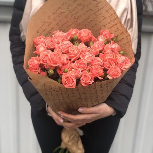 Роза «Барбадос»: букеты цветов на заказ Flowwow