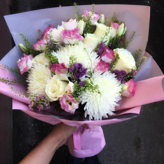 Букет «Хорошее настроение»: букеты цветов на заказ Flowwow