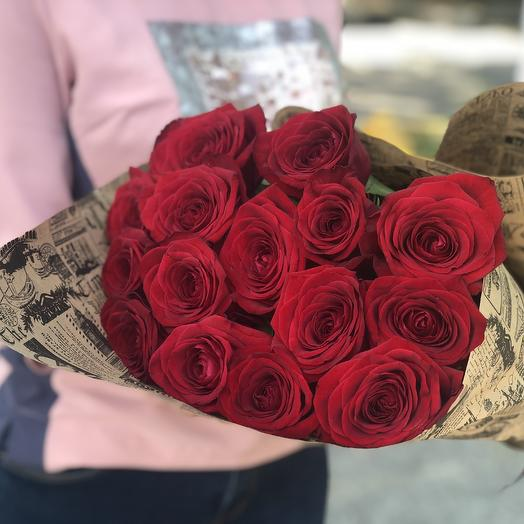 Букет роз 80см: букеты цветов на заказ Flowwow
